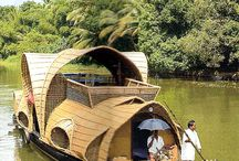 kerala houseboats / by Kim Dickson Greeff