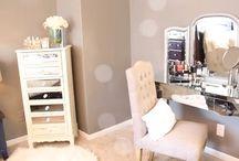 Makeup/beauty room