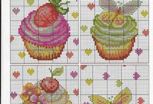Cross Stitch Cupcake