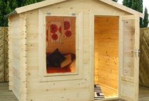 Log Cabins / Log Cabins are your number one choice if you're looking for the most versatile garden building. Log Cabins can be used continuously throughout the year, entertaining guests in the summer and for relaxing in the winter. The space can be easily transformed for whatever purpose in a log cabin. We also offer Fully Insulated Garden Rooms if you are looking for a garden building that can be used all year round.