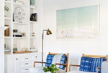 Amigo Lane great room mood board / by Lauren H