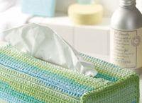 Crochet tissue