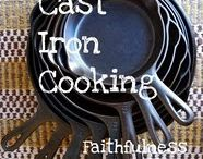 Cast Iron Cooking / I love my cast iron skillets and pots!