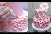 Videos decoração bolos