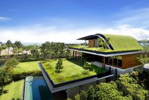 Luxury homes with unconventional architecture / I am in-love with luxurious homes and hope to live in one some day.