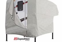 Truck Camper RV Cover / Truck Camper Covers available in multiple sizes and colors.