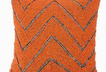 Orange Pillows/Cushions