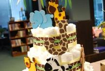 safari baby shower boy