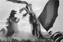 ゴジラ&東宝映画の怪獣たち(GODZILA & other monsters appeared in TOHO kailu movies)