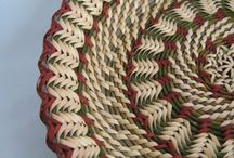 Basketry: Coiled/Pine-Needle/Straw/Grasses / by Kathy Kveene