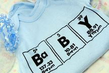 Gifts for Nerdy and Geeky Babies / Show the world the true meaning of chemistry by making sure the favorite baby in your life is sporting this!