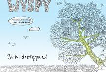 """Na """"Wyspach"""" pełnych marzeń... / """"Wyspy"""" Anity Graboś to pełna tajemnic ksiązka do kolorowania dla marzycieli w każdym wieku ;)"""