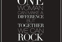 Empowering Women / Inspiration, Motivation & Support for Women