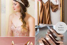 Copper Wedding Color Palette