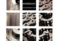 Makine Zincirleri / Dişli Zincir, Konveyör Zinciri, Kulaklı Zincir ve Transmisyon Zincirleri