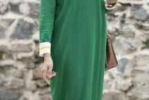 Islamic dresses.