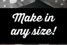 Great Craft Supplies or How to Make Them! / by ClipWithPurpose