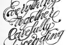 Typophilia / I heart typography. / by N