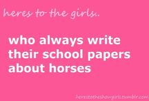 Once an equestrian,  always an equestrian.