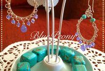 Gemstone jewelry / gemstone jewelry, handmade, gems