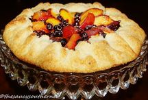 Pies - Sweet / Sweet Pies and Tart recipes from the Saucy Southerner