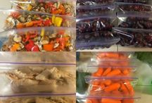 meal plans/ prep / by Kris O'Toole