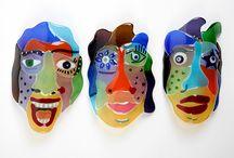 Glas - Maskers en schilden