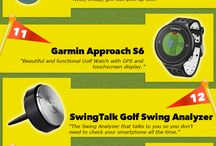 Cool Golf Gadgets / A board with golf gadgets, training aids and accessories to boost your golf game.  http://newfitnessgadgets.com/