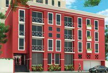 Condominio Villaverde / Edificio conformado por 05 torres de 119 departamentos. Ubicación: Calle Tacna 207, Surco. Fecha de entrega: Junio del 2014