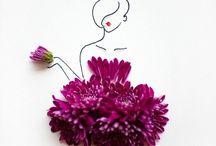 Art w flowers