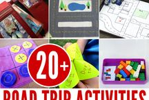 Road Trips with Kids / Everything you need to make your next road trip with kids worry free. Games, activities, hacks, gear, apps, and more for road trip and kid travel sanity.