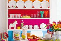 colourful home ideas