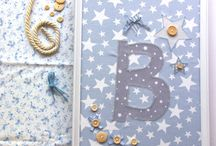 Cotton Lullaby | Creations / Sweet, elegant, romantic, one-of-a kind hand crafted nursery decorations and gifts. Most of the creations are personalized and all are created with high quality raw materials with different textures such as wood, fabric and paper which conforms a unique result in a charming, calm and pal color palette.