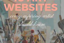 10 kunstsites die je verder helpen