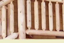 Log Railing / When making a decision about your log railing, there are numerous factors to consider. Style, size, and type of wood- just to name a few. And whether you're a first timer or an experienced builder, Rocky Top has the product, team, and experience to make your deck or stair project run as smoothly as possible.