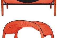 łózko namiot