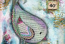 Mixed media & Art Journaling / Lintu