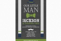 Little Man Birthday Party / Little Man birthday party ideas that will help you plan the ultimate mustache bash. #littlemanbirthdayparty #littlemanbirthdaypartyinvitations #littlemaninvitations #littleman