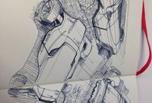 Automotive Sketch