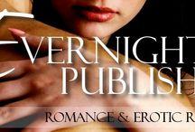 eBook Publishers I like to read / Samhain Publishers,  Evernight Pub, Decadent Pub, Ellora's Cave,