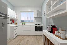 Cozinhas / Ambientes desenhados pelo site www.seusonhodesenhado.com