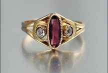 Rings with Amethyst