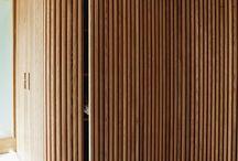 wood panel wall