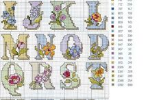 Letter Cross Stitch