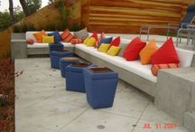Outdoor furniture color schemes