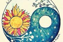 sol y la luna