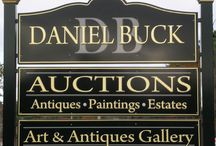 Daniel Buck Auctions / Come visit us at our gallery in Lisbon Falls, Maine. See our fine collection of Art, Collectibles, and Antiques. We offer Appraisals, Valuations, Estate and Auction Services. Visit our website for further information about upcoming auctions.