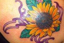 Sunflower Tatoos