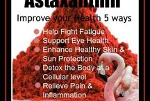 Astaxanthin / Astaxanthin is a powerful potent anti inflammatory & anti oxidant, taken regularly it can improve your health and enerygy levels. Roslyn Uttleymooe