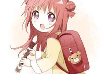 Akaza Akari 赤座あかり / My first Waifu.  あかりんチャンはとても可愛いですね。(`・ω・´)